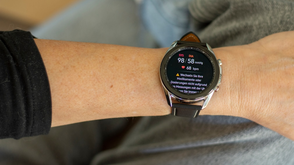 Samsung Galaxy Watch 3 Blutdruck messen©COMPUTER BILD