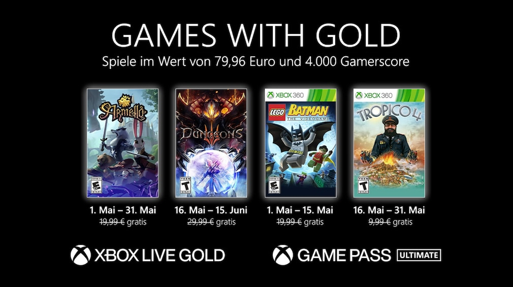 Games with Gold Mai 2021
