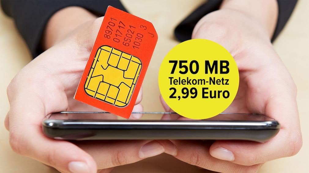 3-Euro-Telekom-Tarif