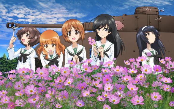 World of Tanks Girls und Panzer©Wargaming