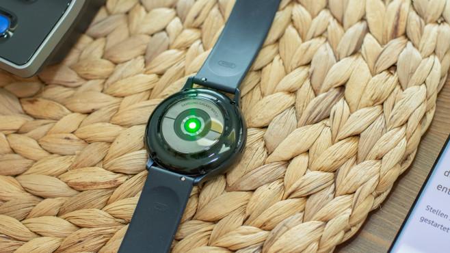 Galaxy Watch Active 2 Lichtsensoren©COMPUTER BILD