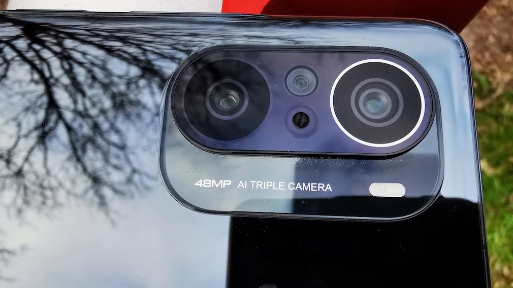 Poco F3; Kamera