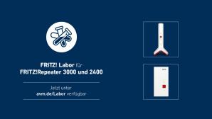 Fritz Labor für FritzRepeater 3000 und 2400©AVM