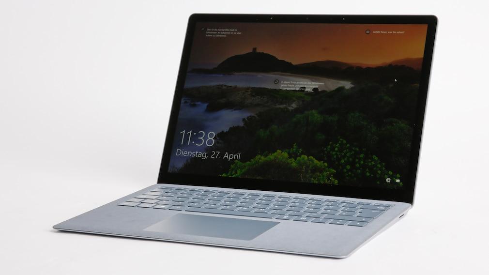 Microsoft Surface Laptop 4 13.5 Zoll im Test©COMPUTER BILD