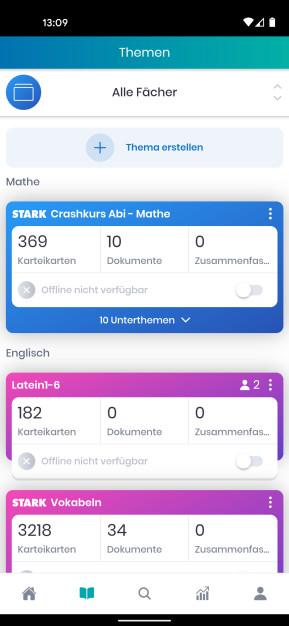 StudySmarter Lernapp für Studium & Schule (Android-App)
