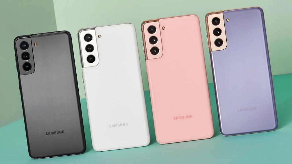 Samsung Galaxy S21 günstig bei Sparhandy