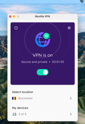 Mozilla VPN (Mac)