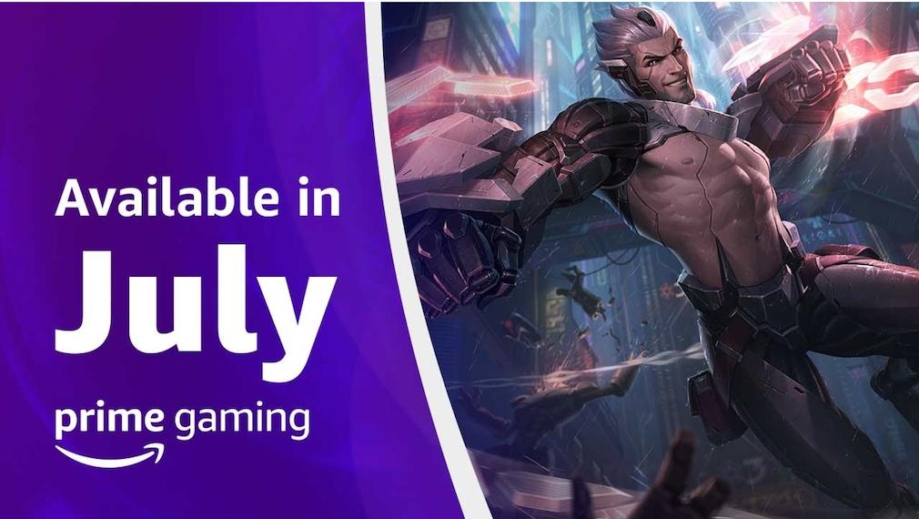 Amazon Prime Gaming Juli 2021