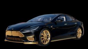 Tesla Model Excellence 24k©Caviar