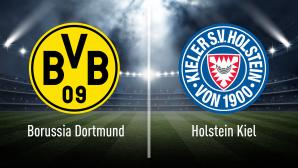 DFB-Pokal: Werder Bremen gegen RB Leipzig live sehen Noch ein Schritt: Wer zieht ins DFB-Pokal-Finale ein? Bremen oder Leipzig?©iStock.com/efks, Borussia Dortmund, Holstein Kiel