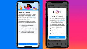 Die Apps von Facebook und Instagram auf einem Smartphone©Facebook