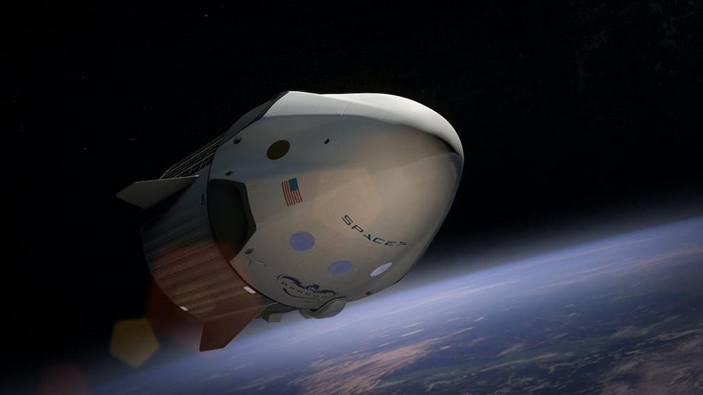 Weltraumkapsel Crew Dragon©pexels.com