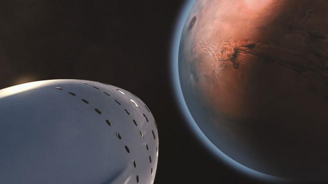 Spaceship auf dem Weg zum Mars©pexels.com
