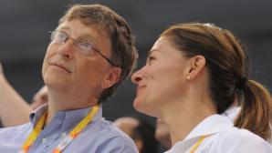 Bill und Melinda Gates©dpa-Bildfunk