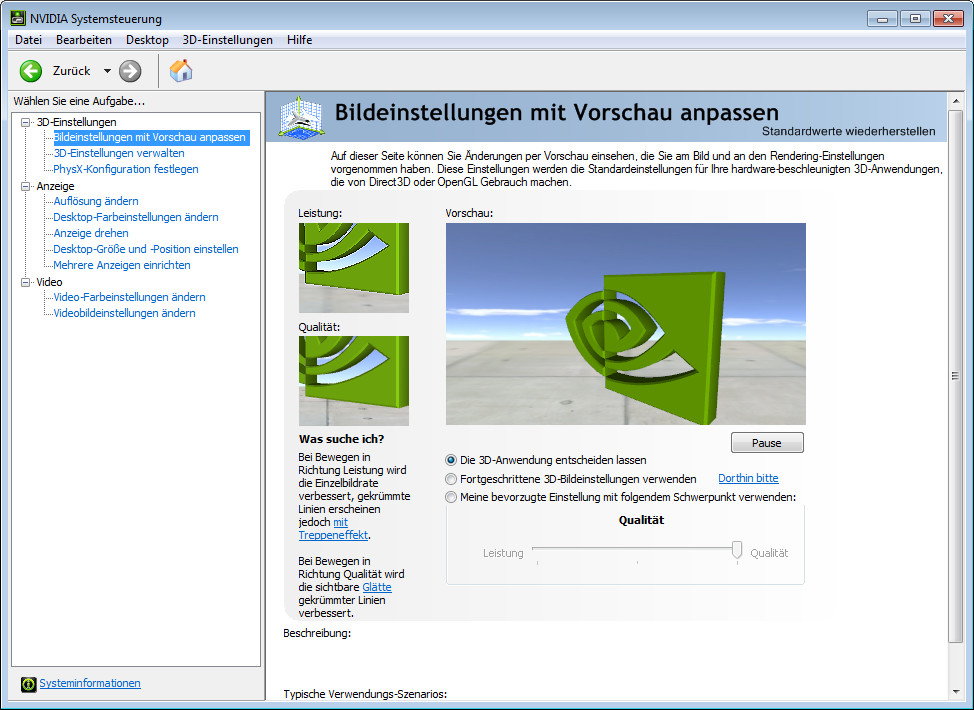 Screenshot 1 - Nvidia-GeForce-Treiber (Windows 8, 64 Bit)