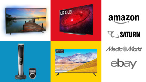 Amazon, Media Markt, Saturn: Top-Deals des Tages! © Amazon, Saturn, eBay, Media Markt, Philips, Samsung, LG