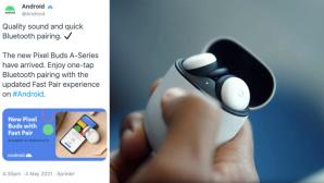 Google: Neue Pixel Buds versehentlich angekündigt©Google, Daniel Bader/Twitter