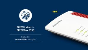 Fritz Labor f�r FritzBox 5530 Fiber©AVM