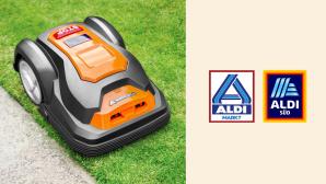 M�hroboter bei Aldi im Angebot: Rasentrimmen zum smarten Preis©Aldi, Yard Force