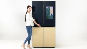 Samsung: Neuer Bespoke-Kühlschrank mit XXL-Display©Samsung