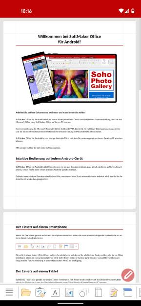 SoftMaker Office TextMaker (Android-App)