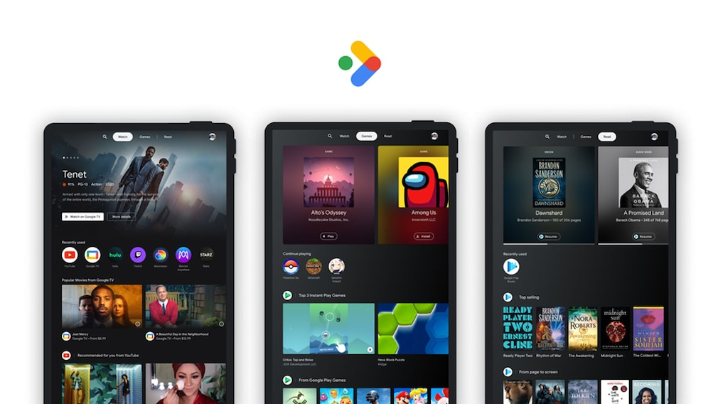 Android: Entertainment Space