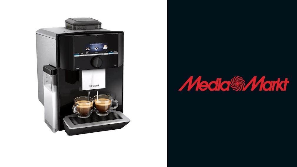 Kaffeevollautomat bei Media Markt im Angebot: Siemens durch Direktabzug günstiger