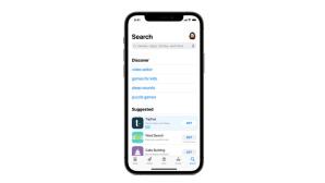 App-Store-Suche: Werbung©Apple