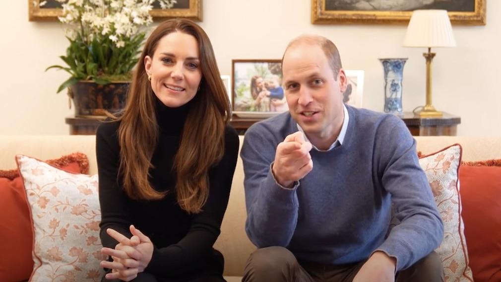Prinz William und Herzogin Kate auf YouTube
