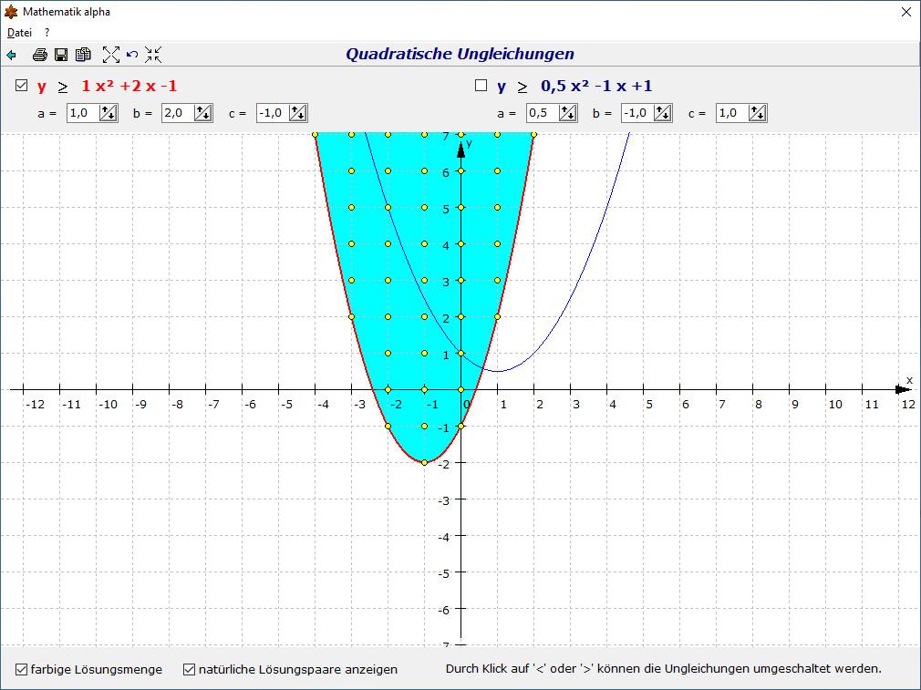 Screenshot 1 - Mathematik alpha