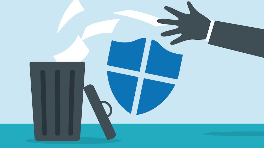 Windows Defender-Bug müllt die Festplatte voll©Microsoft, iStock.com/wenmei Zhou