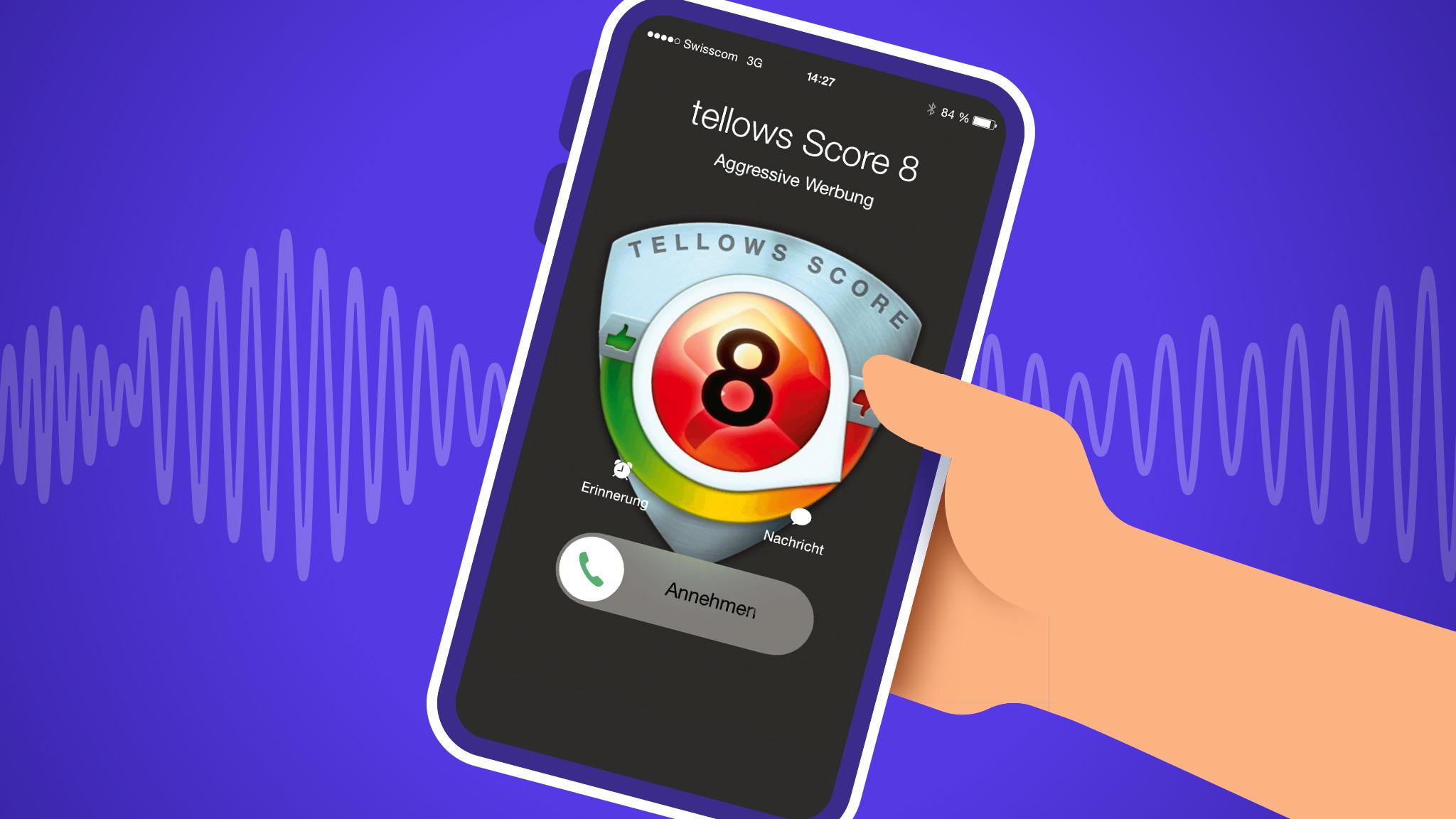 Tellows gratis: Blocken Sie Telefonterror!