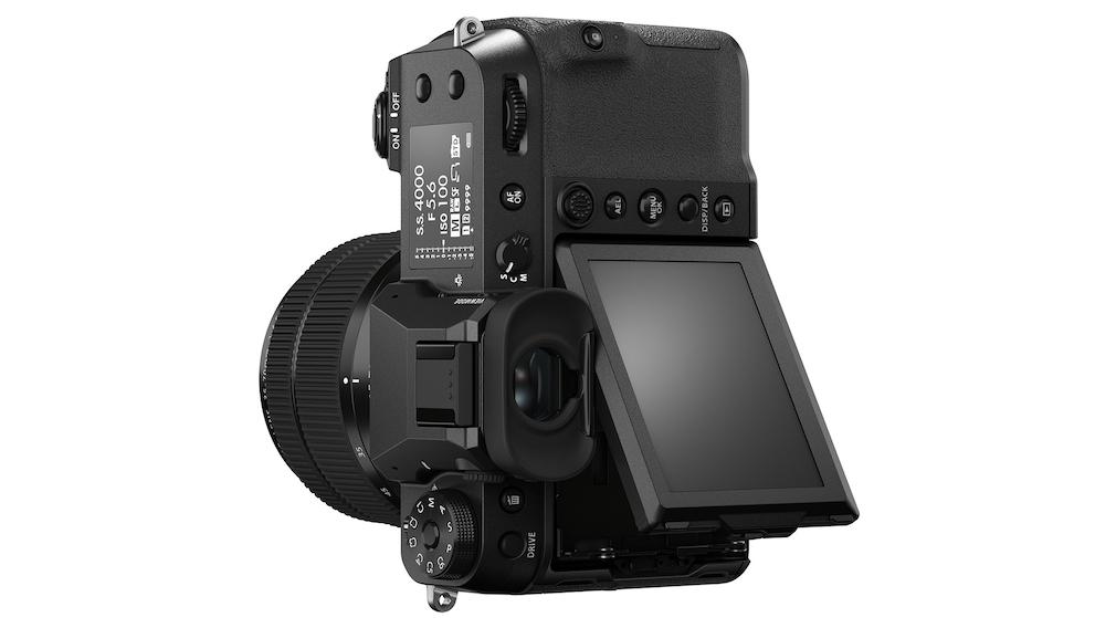 Fujifilm GFX50S II Drei-Wege-Klappdisplay