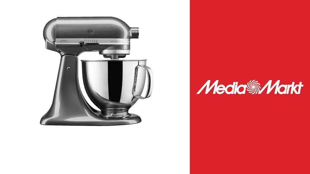 Media-Markt-Angebot: KitchenAid-Maschine für knapp 450 Euro sichern