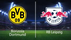 Dortmund gegen Leipzig©Borussia Dortmund, RB Leipzig, iStock.com/LeArchitecto