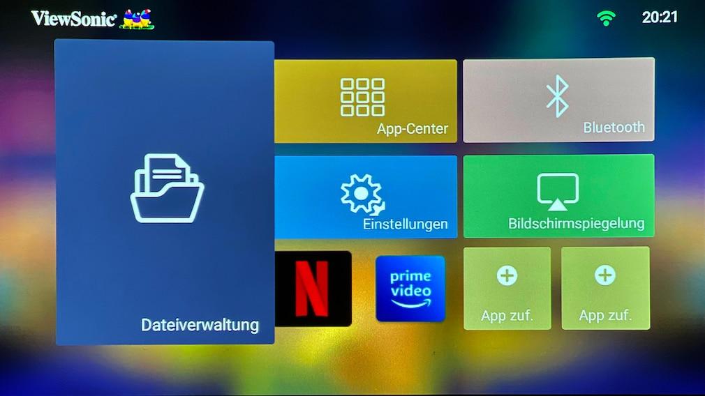 Der ViewSonic M2e ist einfach bedienbar, nur die Apps ignoriert man am besten.