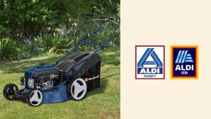 Benzin-Rasenmäher bei Aldi im Angebot: Einhell kürzt zum Discounterpreis©Aldi, Einhell