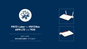 Fritz Labor für FritzBox 7530 und 6890 LTE©AVM