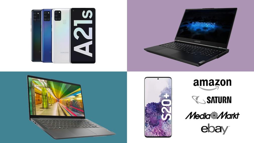 Amazon, Media Markt, Saturn: Top-Deals des Tages!©Amazon, Saturn, eBay, Media Markt, Lenovo, Samsung