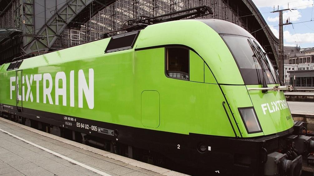 Flixtrain-Zug
