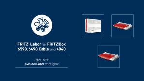 Fritz Labor für FritzBox 6590, 6490 und 4040©AVM