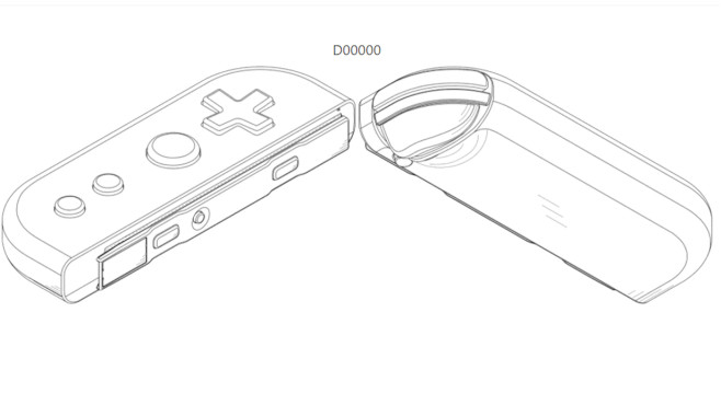 Nintendo Switch Pro: Controller©US PATENT OFFICE, Nintendo