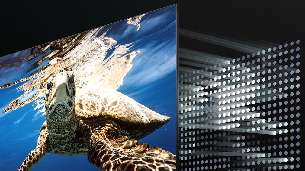 Die Samsung Quantum Matrix in schematischer Darstellung