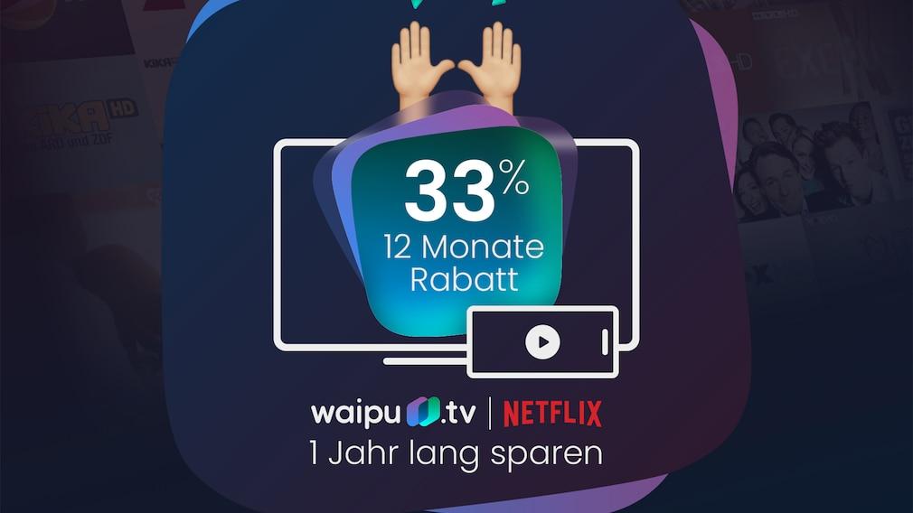 Waipu.tv-Angebot