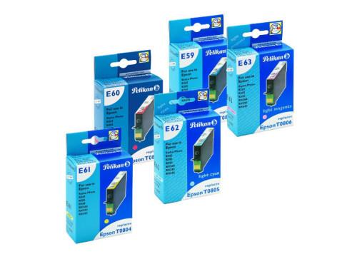 Farbpatronen: Pelikan E59, E60, E61, E62, E63