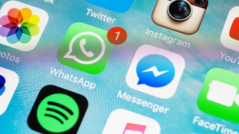 WhatsApp und Facebook Messenger