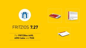 FritzOS 7.27 für FritzBox 7530, 6590 und 6490©AVM