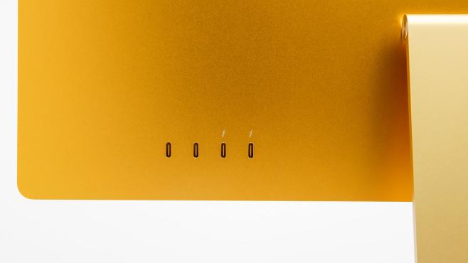 USB-C-Buchsen mit Thunderbolt auf der Rückseite©COMPUTER BILD