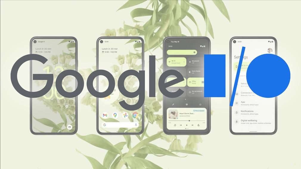 Logo Google I/O 2021
