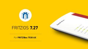 FritzOS 7.27 für FritzBox 7530 AX©AVM